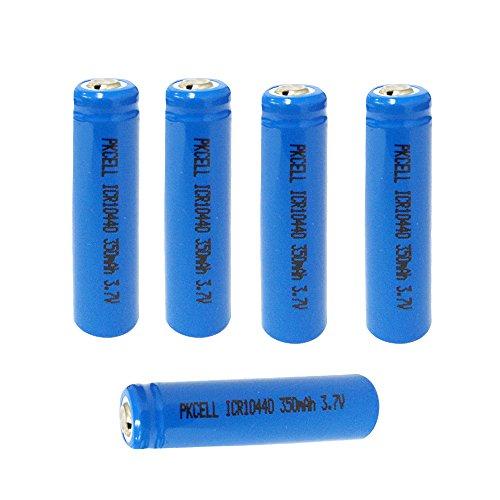 PKcell - Batería 10440 / 350 mAh / 3,7 V