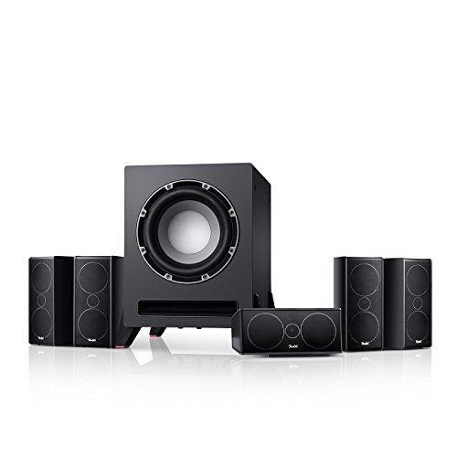 Teufel Consono 35 Mk3 '5.1-Set' Schwarz Film Subwoofer Lautsprecher Movie Musik Raumklang Sound Heimkino DTS HD Komplettanlagen 5.1 Soundanlage
