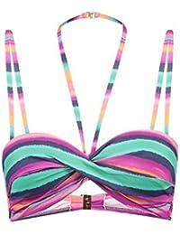 344b426c5c015 ... Femme   Maillots de bain   Lascana. Ensemble Bikini Bandeau Colourful -  Bonnet B