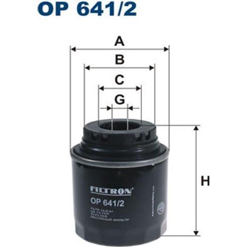 FILTRON OP641/2 Ölfilter