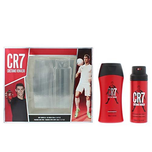 Cristiano Ronaldo CR7 Duschgel 200 ml & Bodyspray 150 ml Geschenkset für Ihn