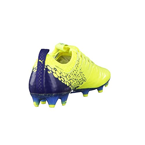 Puma Evopower Vigor 1l Graphic FG, Chaussures de Football Homme yellow