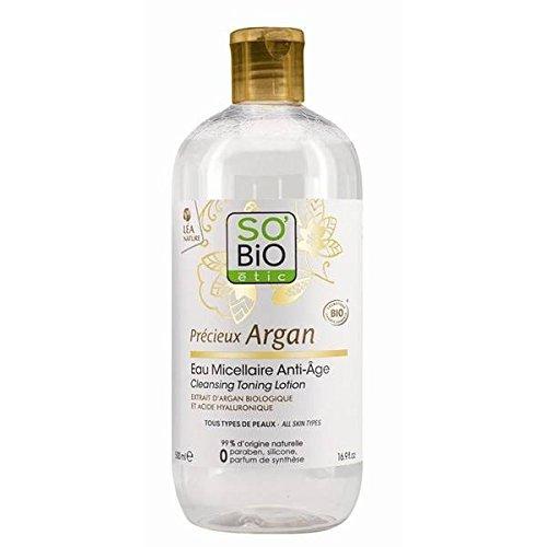 So bio etic lotion micellaire tonifiante argan bio 500ml - ( Prix Unitaire ) - Envoi Rapide Et Soignée