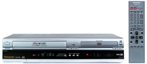 Panasonic NV-VHD1EC-S DVD-Video / VHS-Kombination Silber -