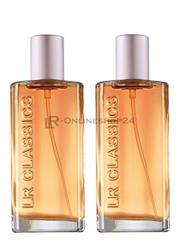 LR Classics Antigua Lot de 2 eaux de parfum pour femme (2 x 50 ml)