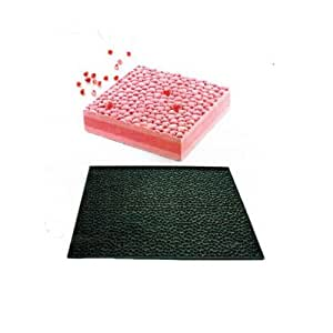 Silikomart - Tapis relief silicone coeur -. Cuisine : Autour de la pâtisserie (Moules en silicone)