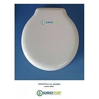 Toilet Galassia Arke White Zip cromo-sedile-asse Toilet