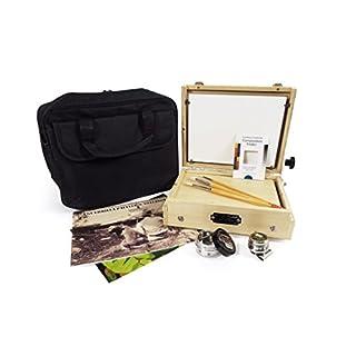 Guerrilla Painter 8 by 10 Cigar Box Oil and Acrylic Plein Air Kit