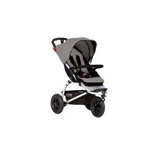 Mountain Buggy Kinderwagen mit 3Rädern All Terrain/leicht/Kompakt silber