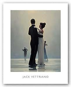 Jack Vettriano – Faites-moi danser jusqu'à la fin de l'amour Impression d'art Print (40,01 x 49,53 cm)