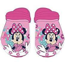 Zueco chancla de playa full print de Minnie Mouse