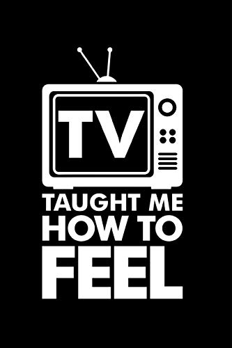TV Taught Me How To Feel: My Favorite TV Tracker Gift Under 10.00!  Stay organized this TV Shows season Planner and Organizer! (How To Watch Tv Shows)