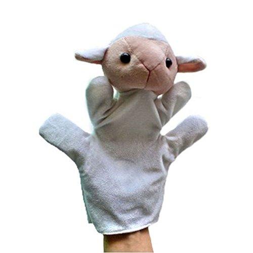 Ovejas niño felpa marionetas de mano Juguetes Animal