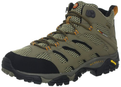 Merrell Moab Mid Gore-Tex Chaussures de randonnée - Hommes Dark Tan