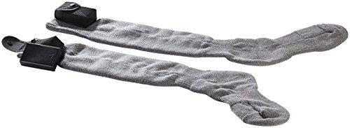 infactory Beheizbare Socken: Beheizbare Kniestrümpfe Gr. 39-42 (Motorrad-, Reiter- & Ski-Strümpfe beheizbar) -