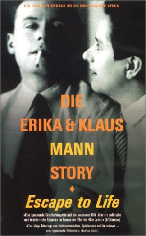 Die Erika und Klaus Mann Story - Escape to Life [VHS]