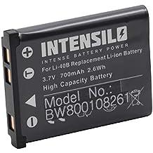 Batería Li-Ion 700mAh (3.7V) marca INTENSILO para cámaras General Electric GE