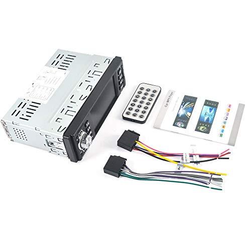 Bluetooth Autoradio HD 4in Bluetooth Auto MP3 MP5 Player Unterstützung AUX, USB, TF-Karte, FM / AM-Radio, Rückfahrkamera Multimedia Audio Video Car Player mit Fernbedienung zum Autos Automobile - Mpeg4 Digital Video