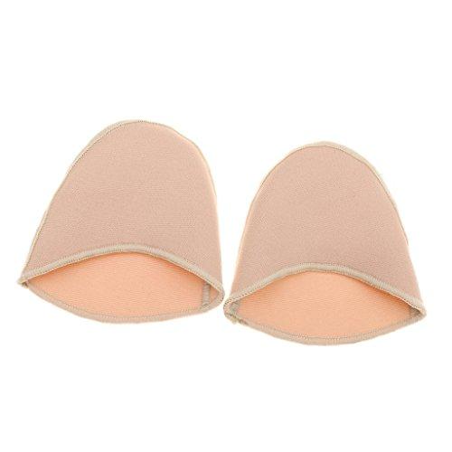 Unbekannt Weiche Ballett Pointe Schuh Stoff Bedeckt Gel Zehenkappe Schutzauflagen Gestrickt