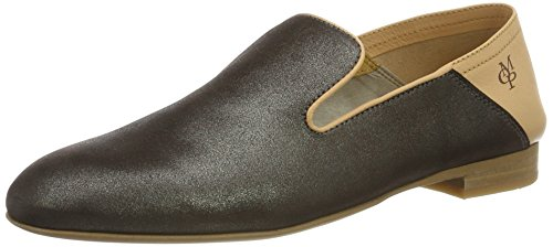 Marc OPolo 70114063201111 Loafer, Mocassins Femme Gris anthracite