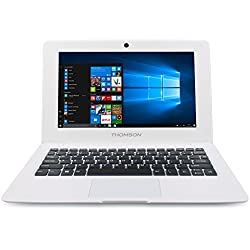 "Thomson NEO10.32S - Ordinateur Portable 10"" Blanc - Windows 10 Home - Processeur Intel Atom - 1 Go de RAM - 32 Go de Stockage Écran HD Clavier Azerty"