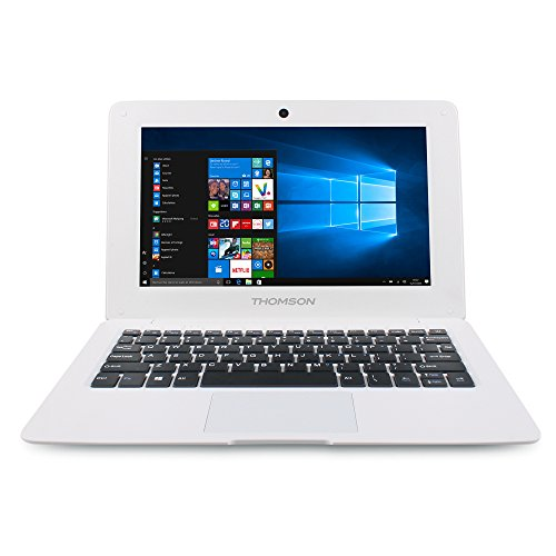 Thomson NEO10.32S Ordinateur Portable 10,1' Argent (Atom Intel_Atom_z530, 32 Go de RAM, 32 Go, Windows 10 Home) Clavier AZERTY français