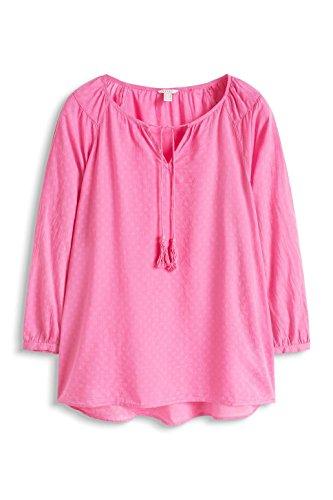 ESPRIT Damen Bluse Rosa (PINK 670)