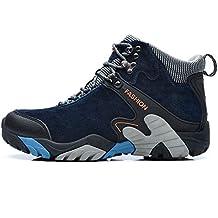 SINOES Zapatos Botas de Senderismo para Hombre Zapatos de Low Rise Trekking Ocio al Aire Libre