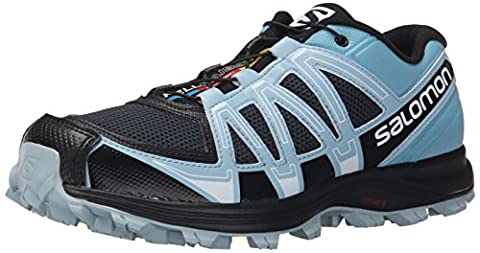 Salomon Fellraiser, Chaussures de Running Compétition Femme, Multicolore (Deep Blue/Blue Gum/Antartic-X), 37 1/3 EU