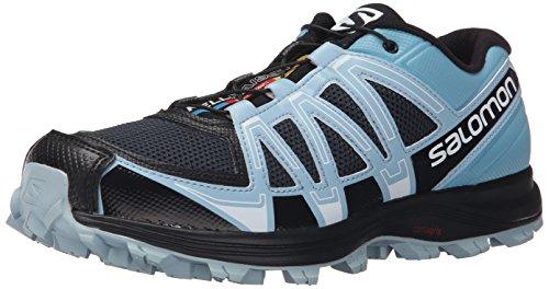 SalomonFellraiser - Scarpe Running Donna , Multicolore (Mehrfarbig (Deep Blue/Blue Gum/Antartic-X)), 36 2/3 EU