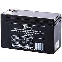 Emos acumulador sin mantenimiento de plomo 12V, 7Ah, 1pieza, b9691
