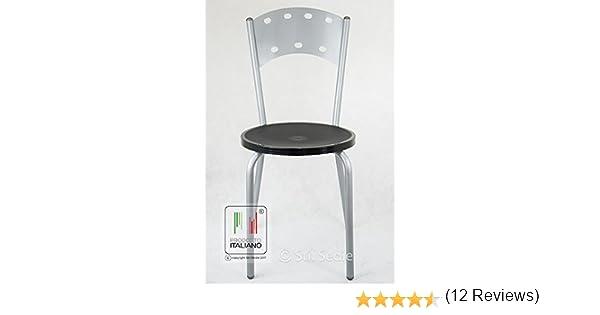 Sedie In Metallo Per Cucina : Stil sedie sedia in metallo colore alluminio cucina bar
