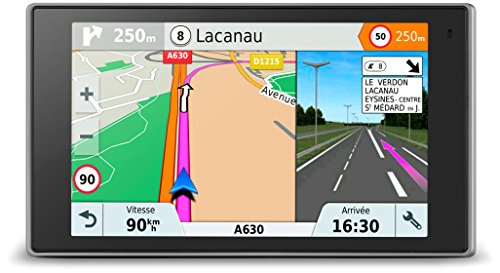 Garmin DriveLuxe 51 LMT-S EU Navigationsgerät - 5 Zoll (12,7 cm) Touchdisplay, lebenslang Kartenupdates & Verkehrsinfos, edles Design, Smart Notifications