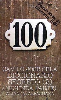 Diccionario secreto, 2: Segunda parte (El Libro De Bolsillo (Lb)) por Camilo José Cela