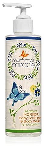 Mummy's Miracle Moringa 'Tear-free' Baby Wash and Shampoo All Natural Sensitive Skin Hypoallergenic