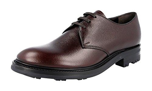 Prada 2EE228, Herren Schnürhalbschuhe, Braun - Braun - Größe: 39.5 - Schuhe Prada Kleid Männer