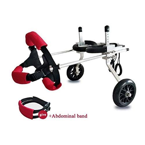 Hunderollstuhl,Dog wheelchair Einstellbare Hund Rollstu… | 06931951342670