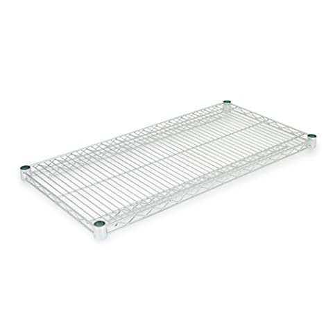 ALERA SW583618SR Industrial Wire Shelving Extra Wire Shelves, 36w x 18d, Silver, 2 Shelves/Carton