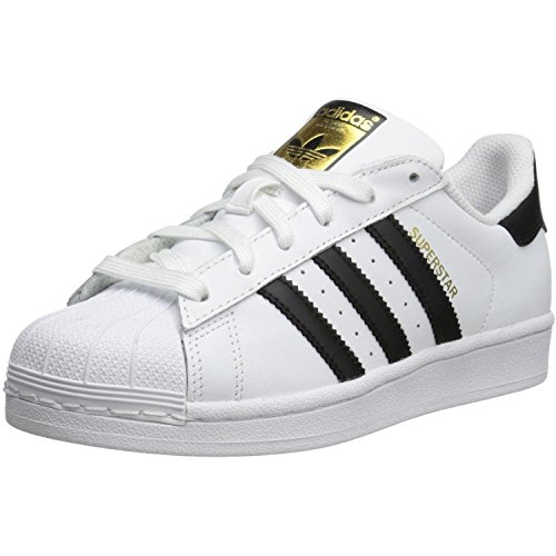 adidas Originals Superstar Foundation, Sneakers bambino, Bianco (Ftwr White/Core Black/Ftwr White), 38
