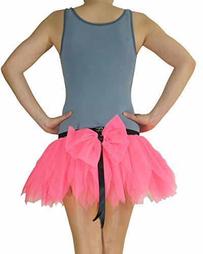 Tinker Bell Tütü Tinkerbell Tutu Pink mit grosser Schleife Gr. S Fasching Karneval