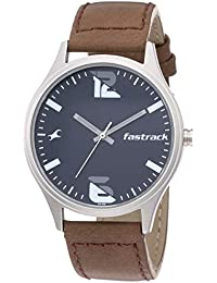 Fastrack Analog Blue Dial Men's Watch-3229SL03