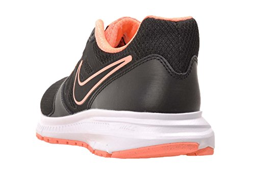 Nike Downshifter 6, Chaussures de course femme Nero (Negro (Black / Black-Atomic Pink-White))