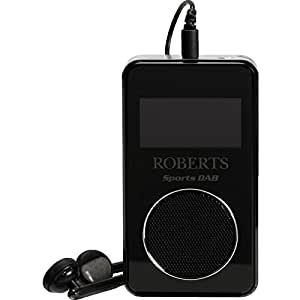 roberts sportsdab 6 portable fm dab radio. Black Bedroom Furniture Sets. Home Design Ideas