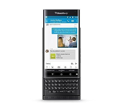 Blackberry Priv Smartphone portable débloqué 4G (Ecran: 5,4 pouces - 3 Go - Nano-SIM - Android)