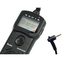 Timer-Fernbedienung JJC tm-c für Canon EOS 60D, 100D, 300D, 350D, 400D, 450D, 500D, 550D, 600D, 650D, 700D, 1000D, 1100D, G1X, G10, G11, G12, G15, SX50HS–Pentax K-5, K-7, K10K20K100K200