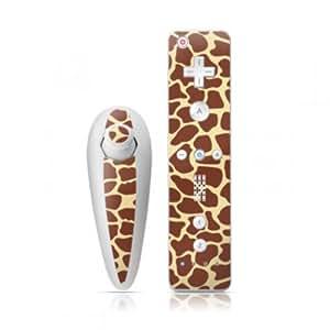 DecalGirl Nintendo Wii Remote und Nunchuk Skin Aufkleber Sticker - Giraffe