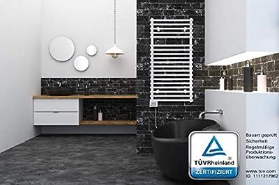 Handtuchwärmer Badheizkörper Elektrisch Badheizung Bad ECO 450Watt 500 x 1000 von vigo - Heizstrahler Onlineshop