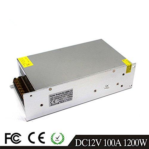 12V 100A 1200W LED Fahren Schaltnetzteil Die Industrielle Energieversorgung Monitor - ausrüstungen Motor Transformator cctv 110/220VAC-DC12V Switching Power Supply - 230v Dc-motor