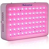 Roleadro 300W Led Floraison Lampe de Culture per Plante Horticole Croissance 5W Chip Full Spectrum Led
