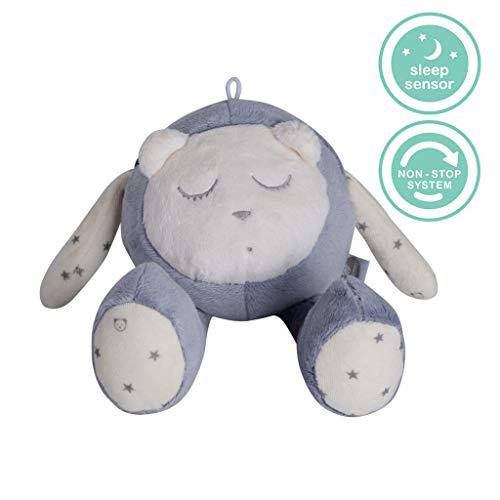 MyHummy peluche d'aide à l'endormissement avec capteur de veille (Gris ardoise)
